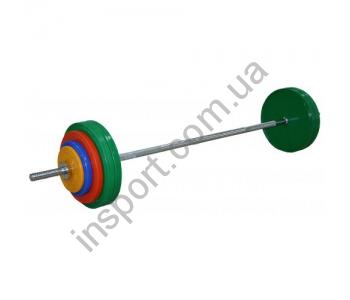 Штанга Inter Atletika 65 кг S-65