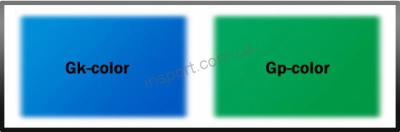 Теннисный стол Gk-4– Compact Light синий с сеткой