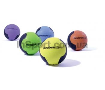 Медицинский мяч Reebok RE-21124 4кг (голубой)