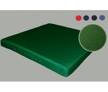 Мат гимнастический тканевый зеленый 100х200х10см