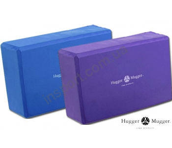 Блок для йоги Hugger-Mugger Foam Block 3-Inch
