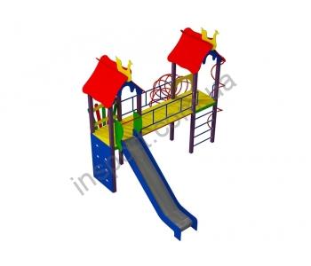 Детский комплекс МВМ Два богатыря