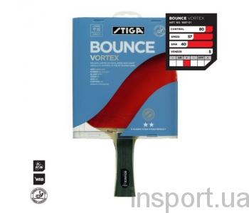 Теннисная ракетка Stiga BOUNCE VORTEX 1687-64