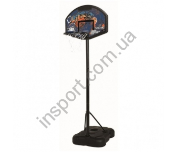 Баскетбольная стойка Spalding 58921CN Sketch Series Composite Fan 32