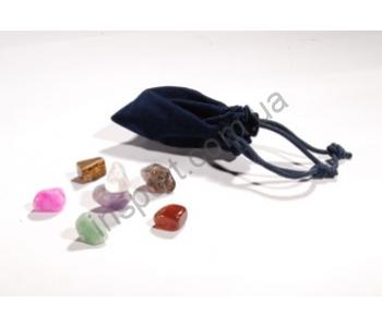 Набор чакральных камней для стоунтерапии