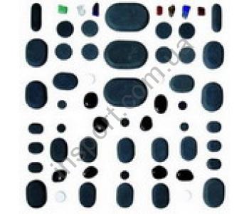 Набор камней для массажа 60 шт