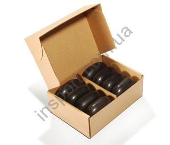 Набор камней для массажа Large Ovular Basalt UMS-L