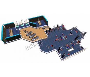 Коммерческий тренажерный зал