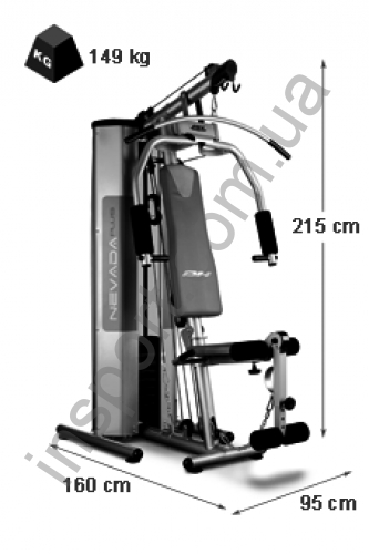 Фитнес станция BH Fitness Nevada Plus G119XA
