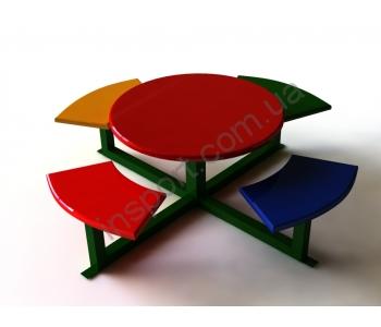 Детский игральный столик ДЭ 006