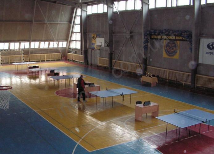 Теннисный стол зеленый FITNESS MASTER (украина)