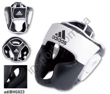 Шлем боксерский Response Standard Head Guard чернокрасный