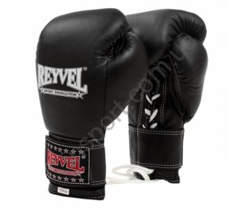 Перчатки боксерские Reyvel ПРО (кожа) с застежкой 10 oz