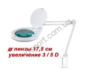 Лампа-лупа настольная 8062 (5 диоптрий)