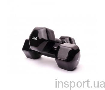 VDD-01-5к Гантель аэробная виниловая Alex 5 кг