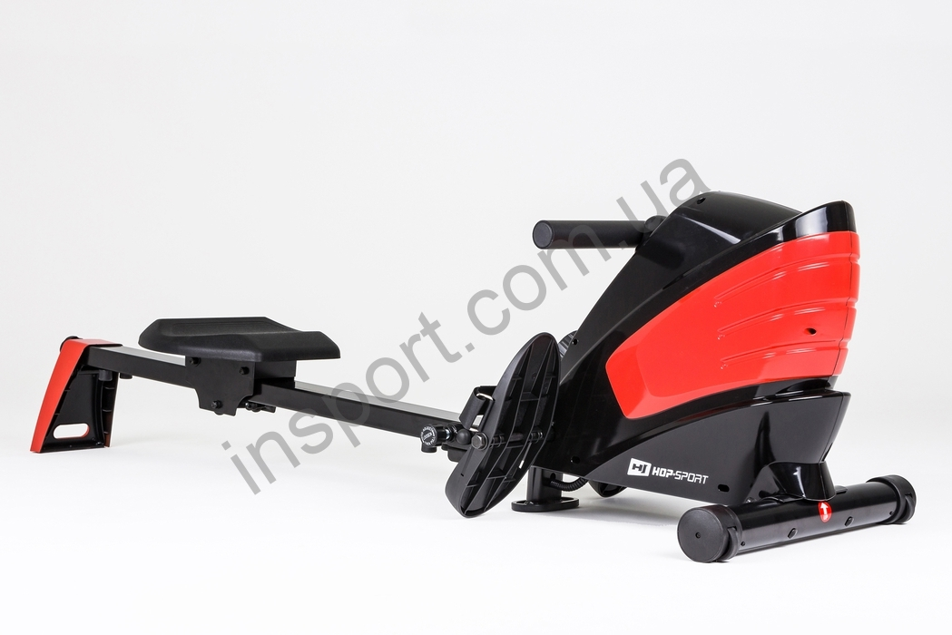 Гребной тренажер Hop-Sport HS-060R Cross white/red