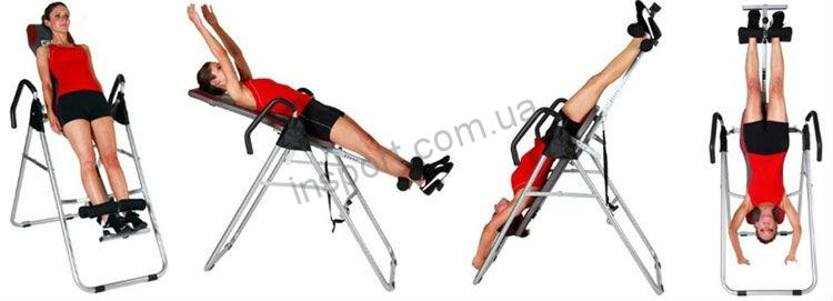 Инверсионный стол Verge Fitness Master