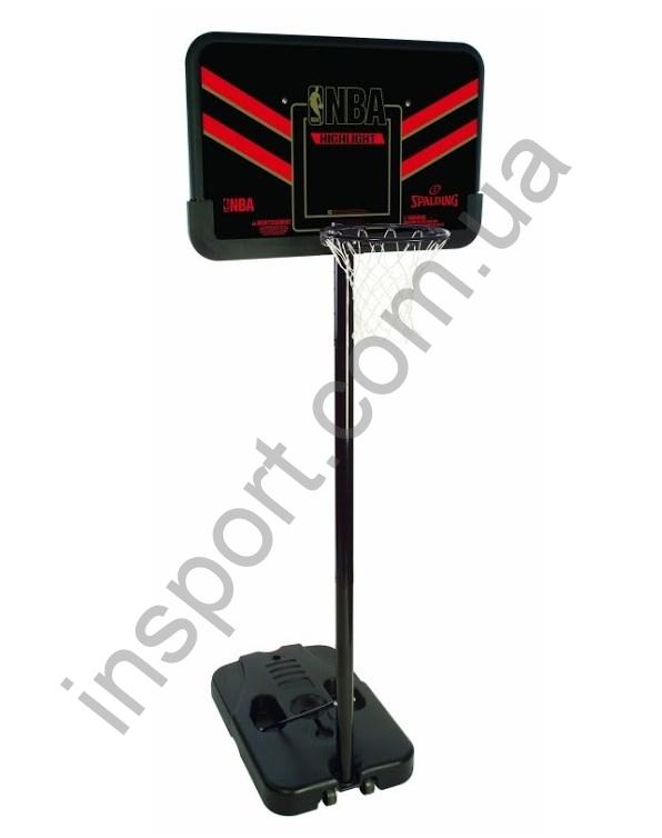 b17a0afa Баскетбольная стойка Spalding 61798CN Highlight Composite Portable ...