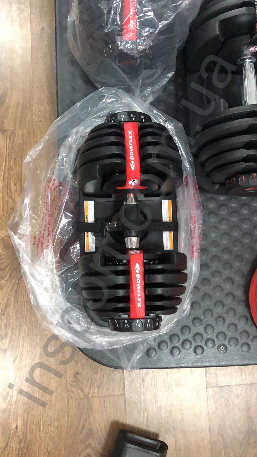 Наборные гантели Bowflex SelectTech 552i Dumbbells
