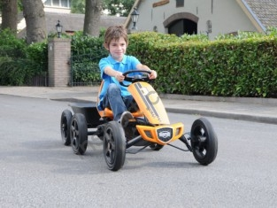 Веломобиль Berg Toys Rally Orange