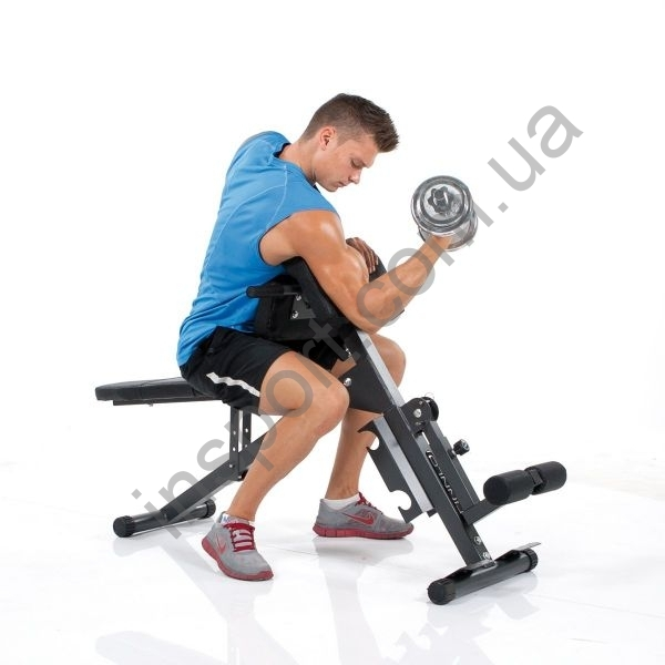Скамья универсальная Finnlo AB & Back Trainer (черная)