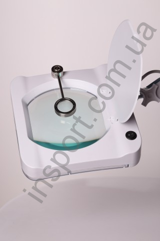 Лампа-лупа настольная LS-6018 LED (3+12 диоптрий)