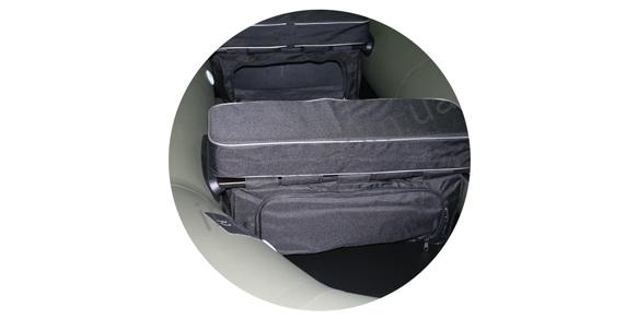 Сиденье мягкое для надувных лодок Bark 900х100