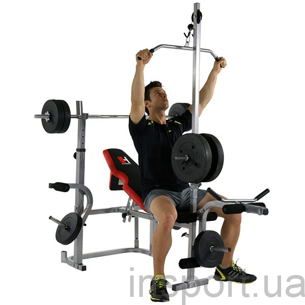 4508 Силовая скамья Hammer Bermuda XT Pro