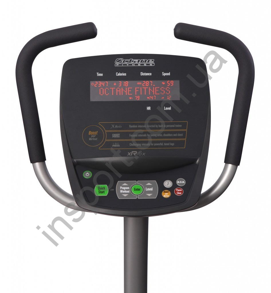 Горизонтальный эллиптический тренажер Octane Fitness xR4