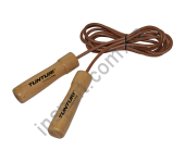КОЖАНАЯ СКАКАЛКА TUNTURI LEATHER SKIPPING ROPE PRO 14TUSFU166