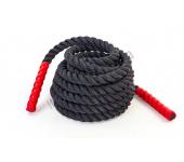 Боевой канат для кроссфит Fitness Master BATTLE ROPE 9 м