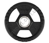 Олимпийский диск прорезиненный черный 5 КГ HMS TOH05