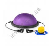 Балансировочная платформа с вкраплениями Hop-Sport HS-MB058B violet
