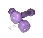 VDD-01-0,5к Гантель аэробная виниловая Alex 0,5 кг