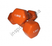 VDD-01-1.5к Гантель аэробная виниловая Alex 1.5 кг