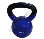 Виниловая гиря 28 кг Spart DB2174-28 Blue