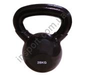 Виниловая гиря 28 кг Spart DB2174-28 Black