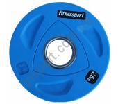 Диск олимпийский для штанги 2,5 кг Fitnessport RCP20-2.5