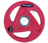 Диск олимпийский для штанги 5 кг Fitnessport RCP20-5