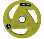 Диск олимпийский для штанги 15 кг Fitnessport RCP20-15