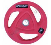 Диск олимпийский для штанги 25 кг Fitnessport RCP20-25