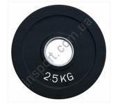 Диск олимпийский обрезиненный цветной 2,5 кг Alex RCP19-2.5