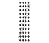 Гантельный ряд 12,5-40кг 12пар Explode PD-108-12.5-40