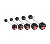 Набор прямых штанг с фиксированным весом Fitnessport FDS 22/1 10-30 кг