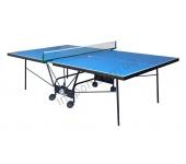 Теннисный стол Gk-5  – Compact Strong синий с сеткой