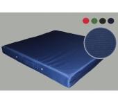 Мат гимнастический тканевый синий 100х100х10см