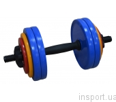 Гантель разборная Inter Atletika 15 кг ST 531.15