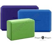 Опорный блок для йоги Hugger-Mugger Foam Block 4-I