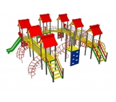 Детский комплекс МВМ Мой город