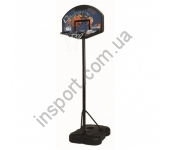 Баскетбольная стойка Spalding 58921CN Sketch Series Composite Fan 32